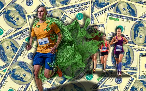 marathon pun boleh jadi jutawan