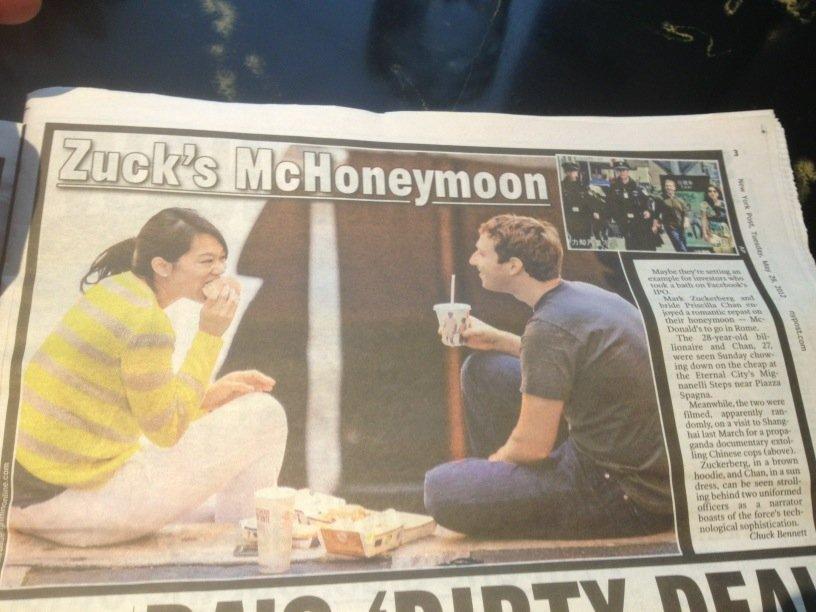 mark dan priscilla bulan madu itali makan mcdonald tepi jalan