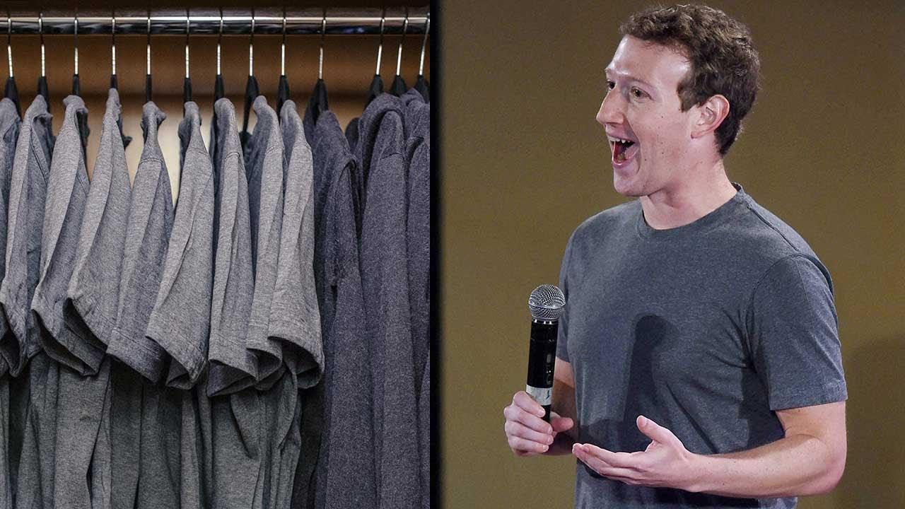 mark tak buang masa pilih pakaian