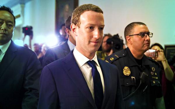 mark zuckerberg in court