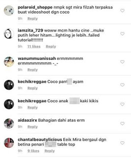 marketing murahan mira filzah