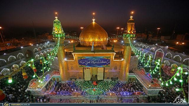 masjid imam ali antara terbesar di dunia