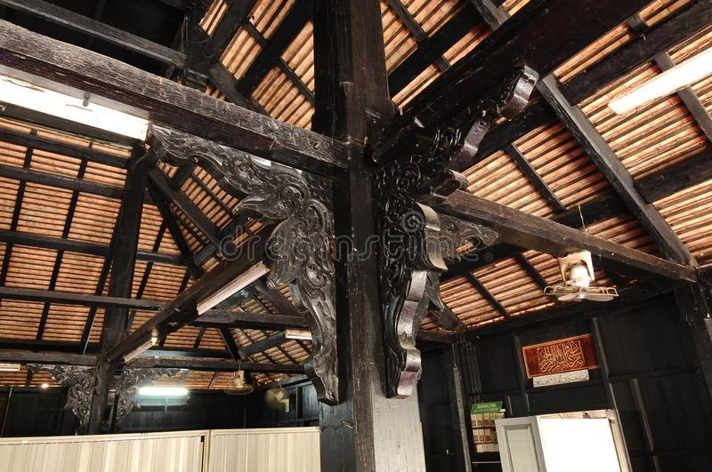 masjid kampung laut nilam puri kelantan malaysia march built s traditional tropical 52089431