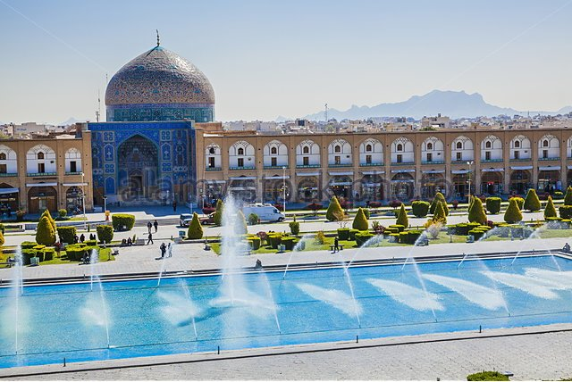 masjid sheikh lotfollah antara terbesar di dunia