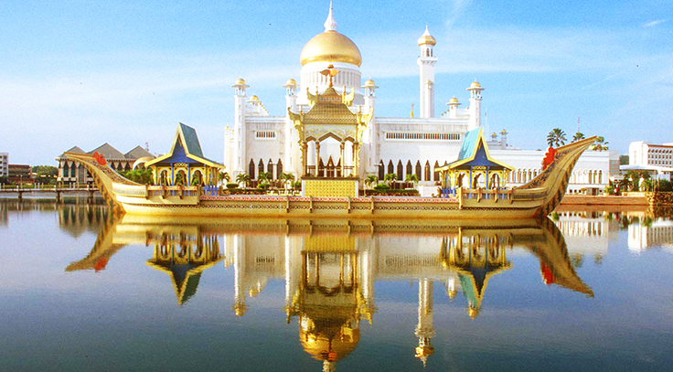 masjid sultan omar ali saifudin brunei