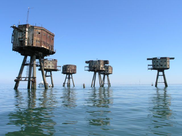 maunsell army sea forts 311