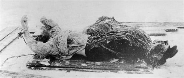 mayat rasputin