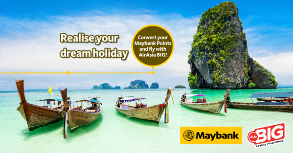 maybank air asia big point