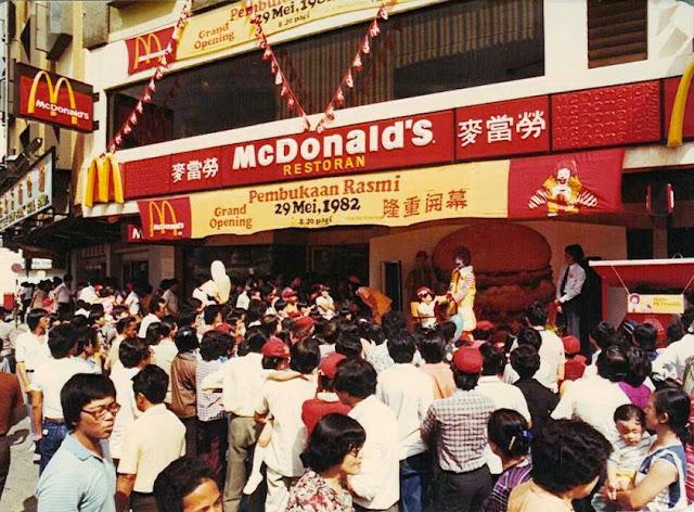 mcdonald pertama di malaysia