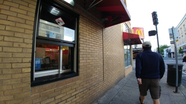 mcdonald walk through