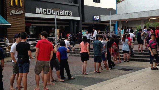 mcdonalds permintaan tinggi