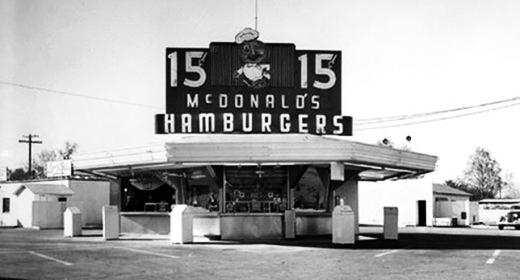 mcdonalds pertama di dunia
