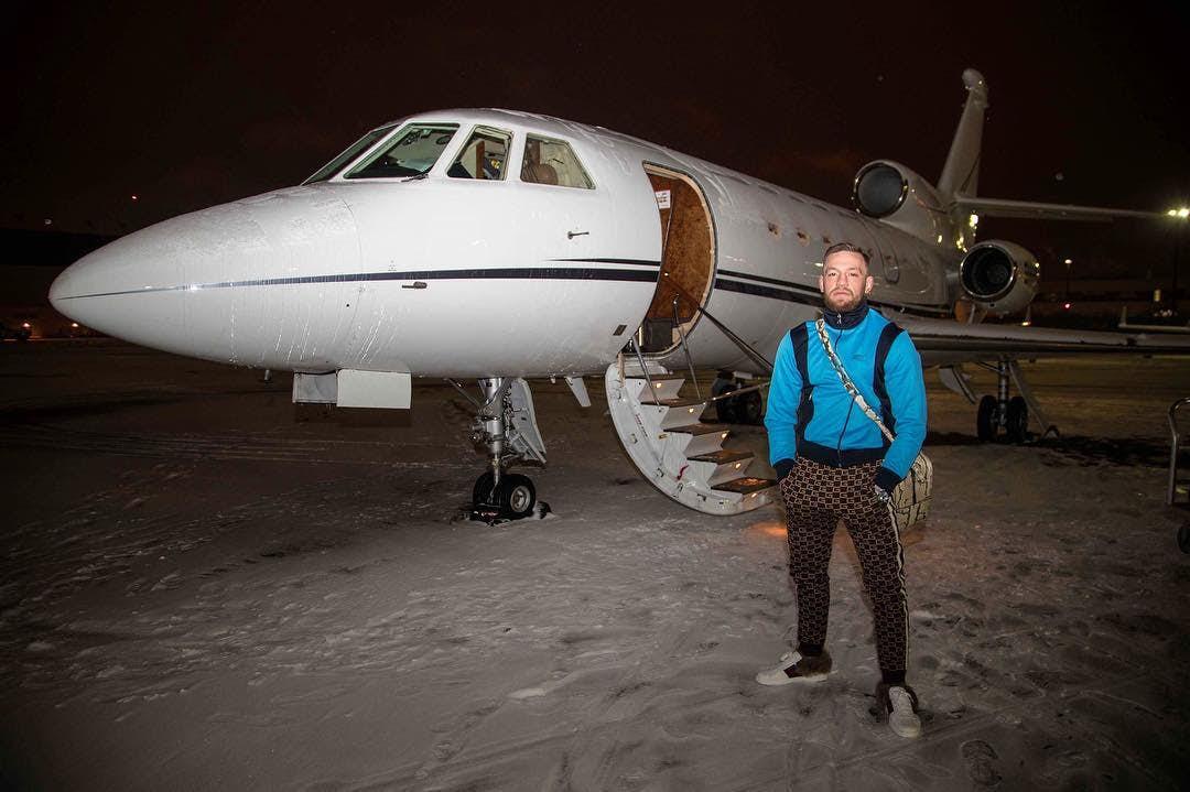 mcgregor dan pesawat peribadi