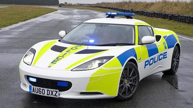 mclaren 12c uk police