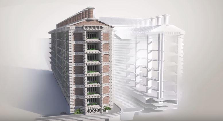 mekanisme bangunan eastgate center