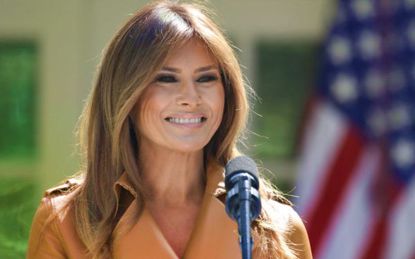 melania trump isteri presiden amerika