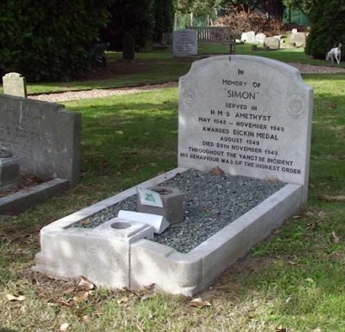 memorial simon kucing hero perang british