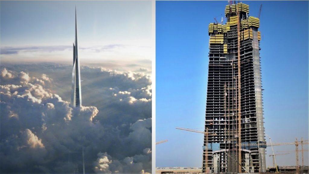 menara jeddah tertinggi dunia