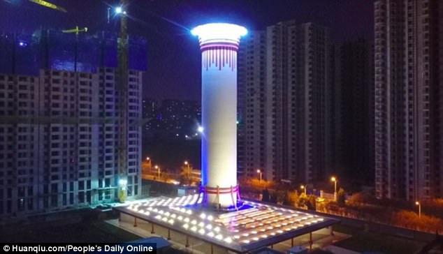 menara penapis udara tertinggi di dunia