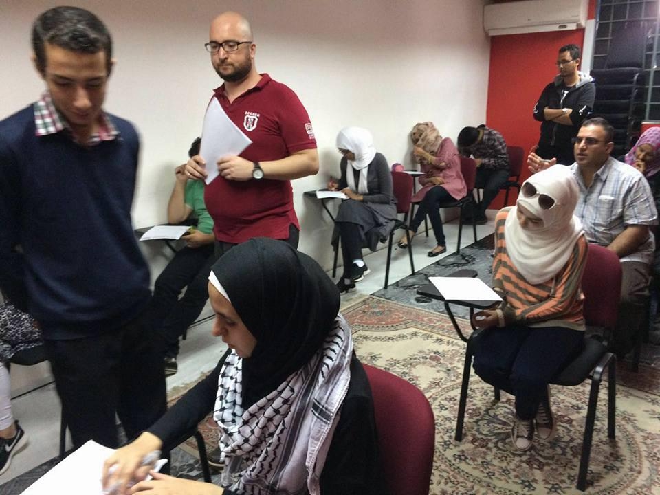mengajar pelarian syria 91
