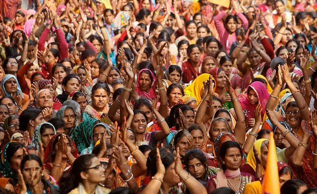 mengapa india ramai sangat penduduk