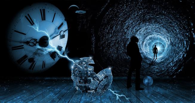 menggunakan graviti untuk kembara masa time travel