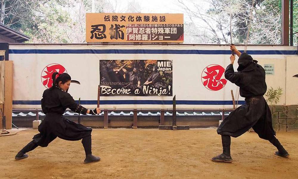 menjadi ninja