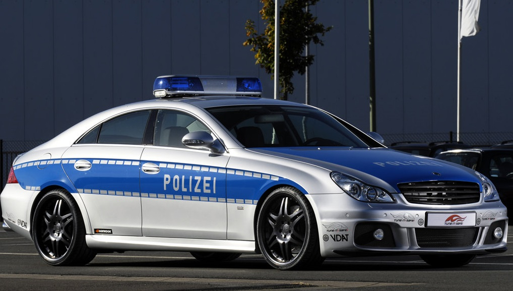 mercedes benz brabus rocket polis jerman
