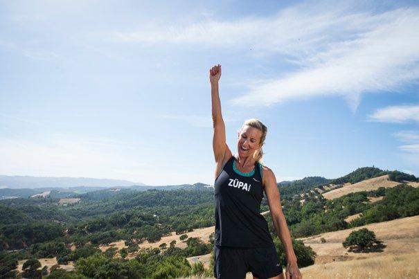 meredith kessler atlet ironman triatlon bertanding ketika hamil mengandung