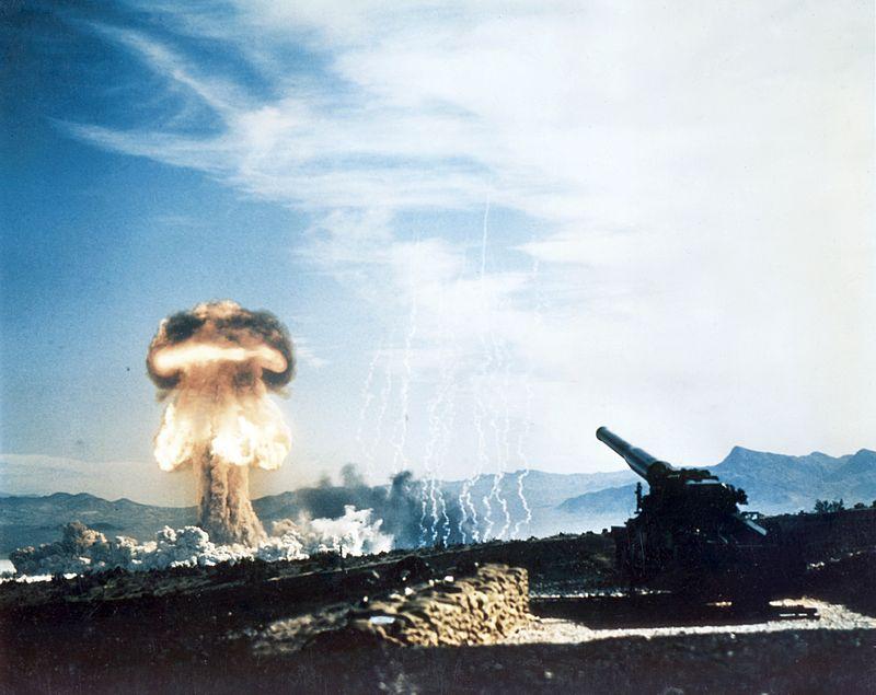meriam pelancar bom nuklear