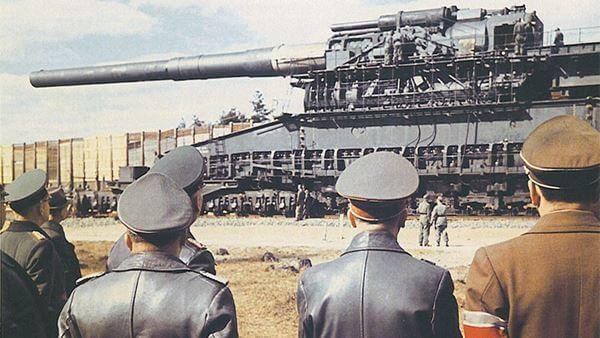 meriam rel gustav dan dora senjata paling dahsyat digunakan dalam perang dunia kedua