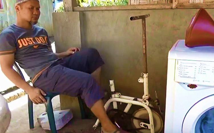 mesin basuh kayuhan basikal