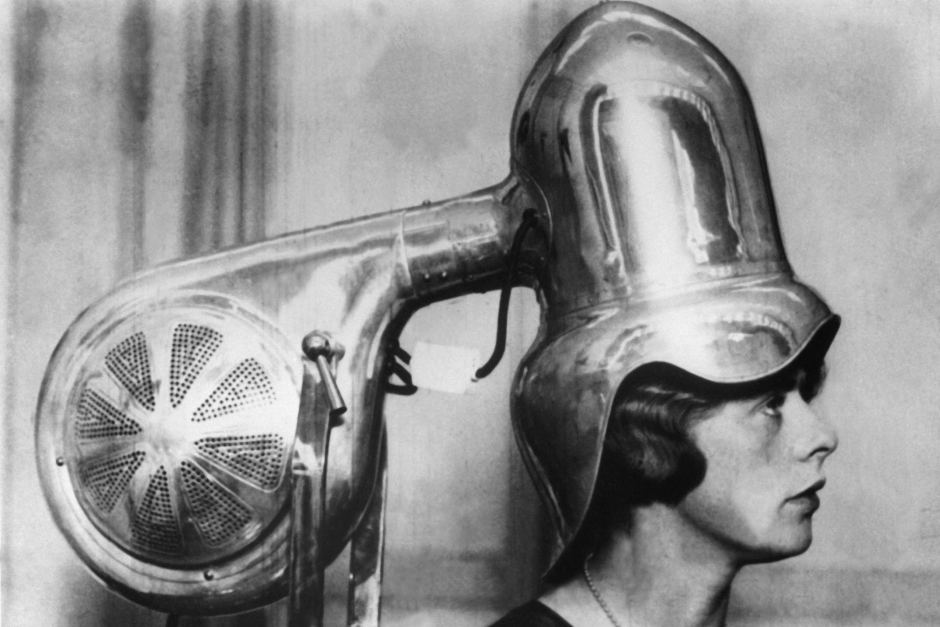 mesin pengering rambut awal