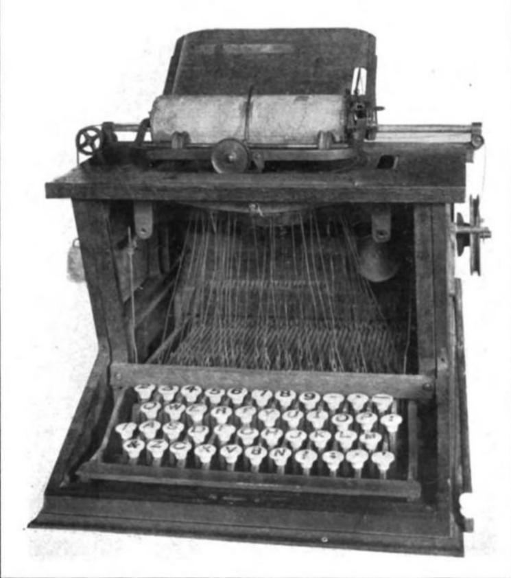 mesin taip pertama di dunia