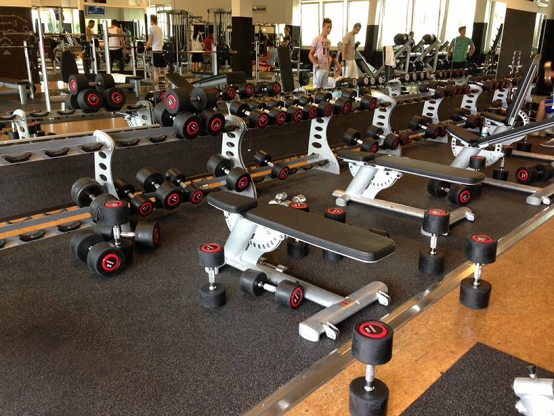 messy gym