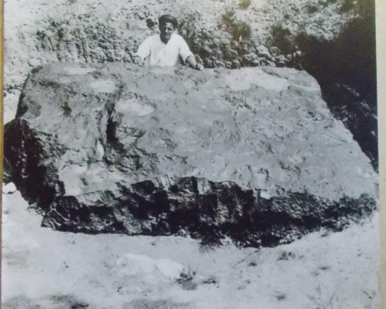 meteorit hoba meteorit paling besar pernah mendarat di bumi 9