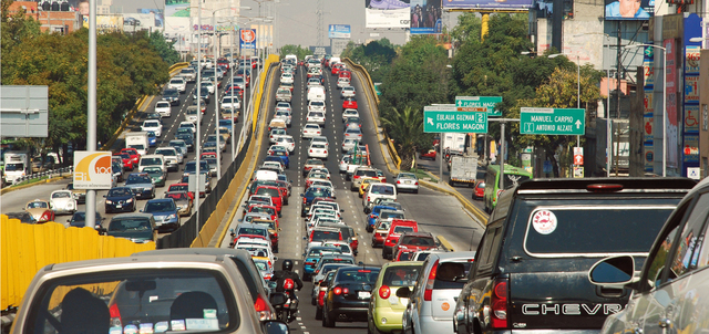 mexico city trafik sesak paling teruk dalam dunia