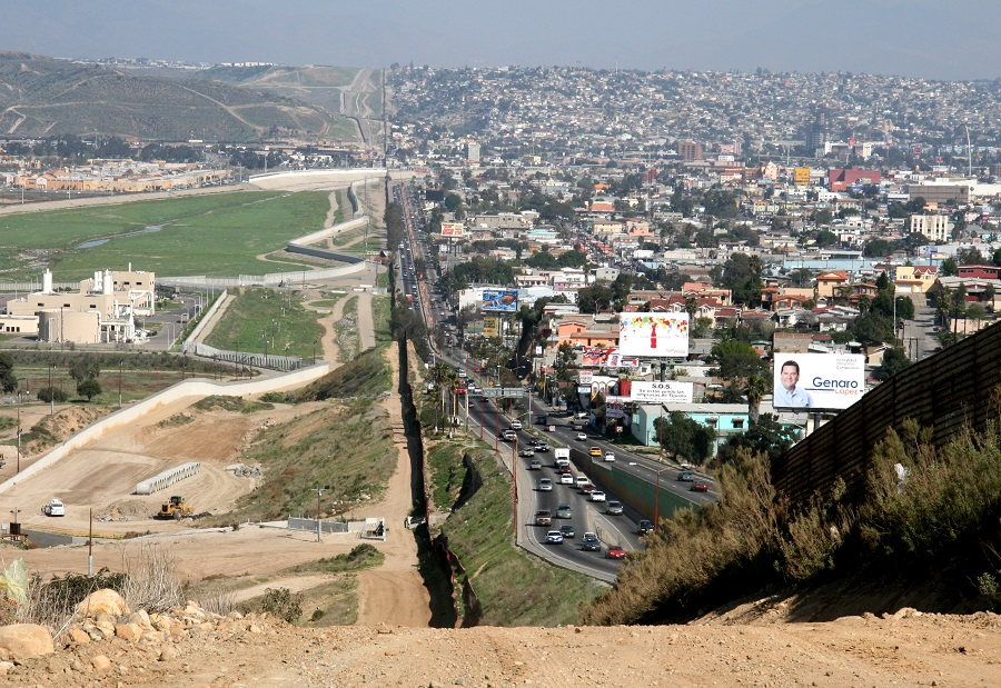 mexico dan amerika syarikat sempadan negara paling bahaya di dunia