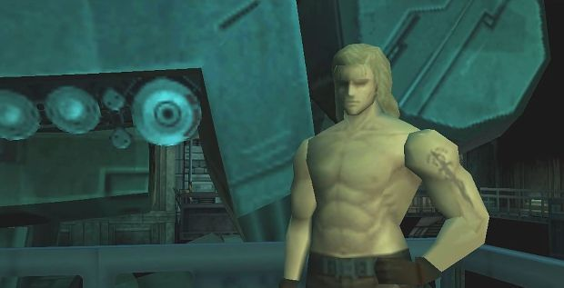 mgs1 liquid snake metal gear rex