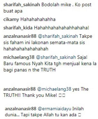 michael ang muat naik video parodi afifah nasir ini respon balas anzalna nasir 2