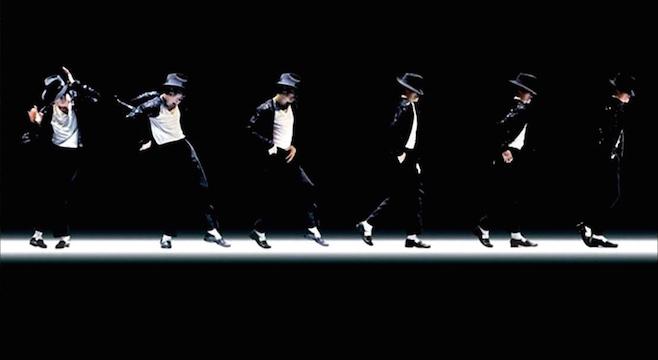 michael jackson melakukan moon dance raja pop dunia
