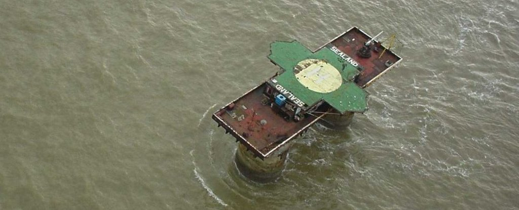 micronation sealand lautan