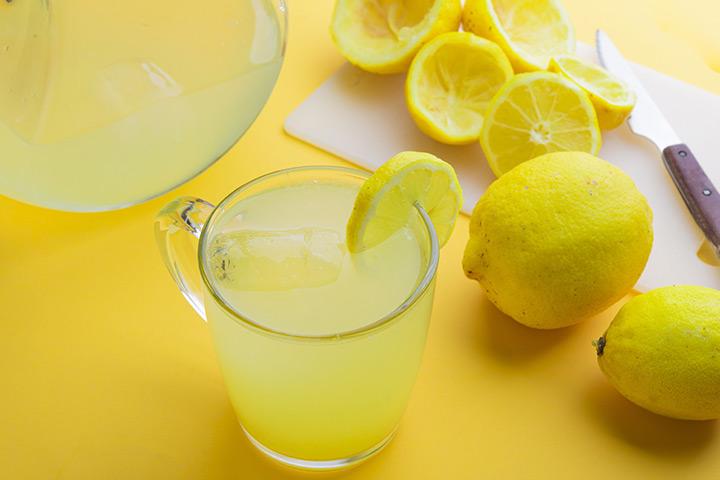 minum air lemon untuk membakar lemak
