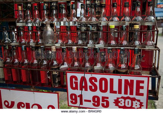 minyak dijual dalam botol di thailand