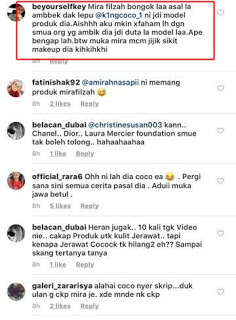 mira filzah upah king coco marketing