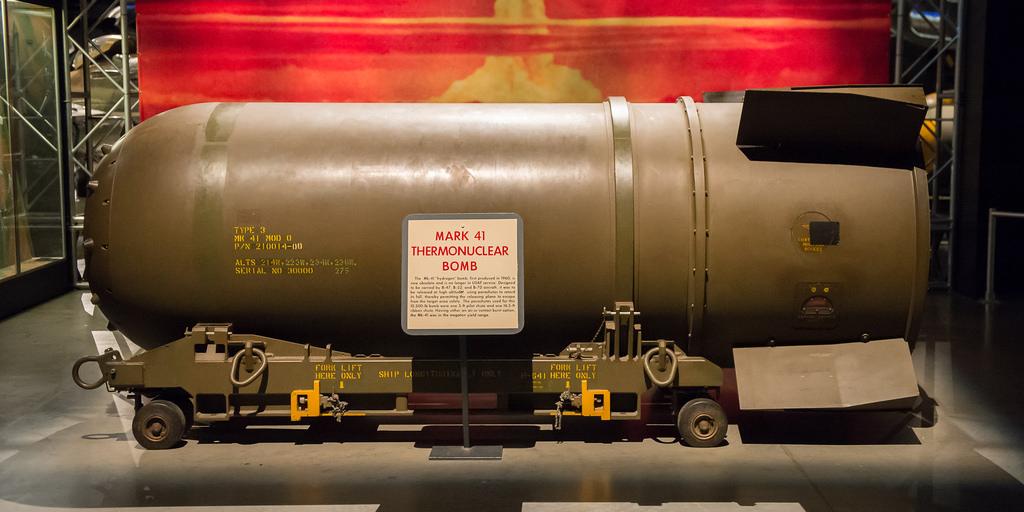 mk 41 bom paling dahsyat dan memusnahkan di dunia