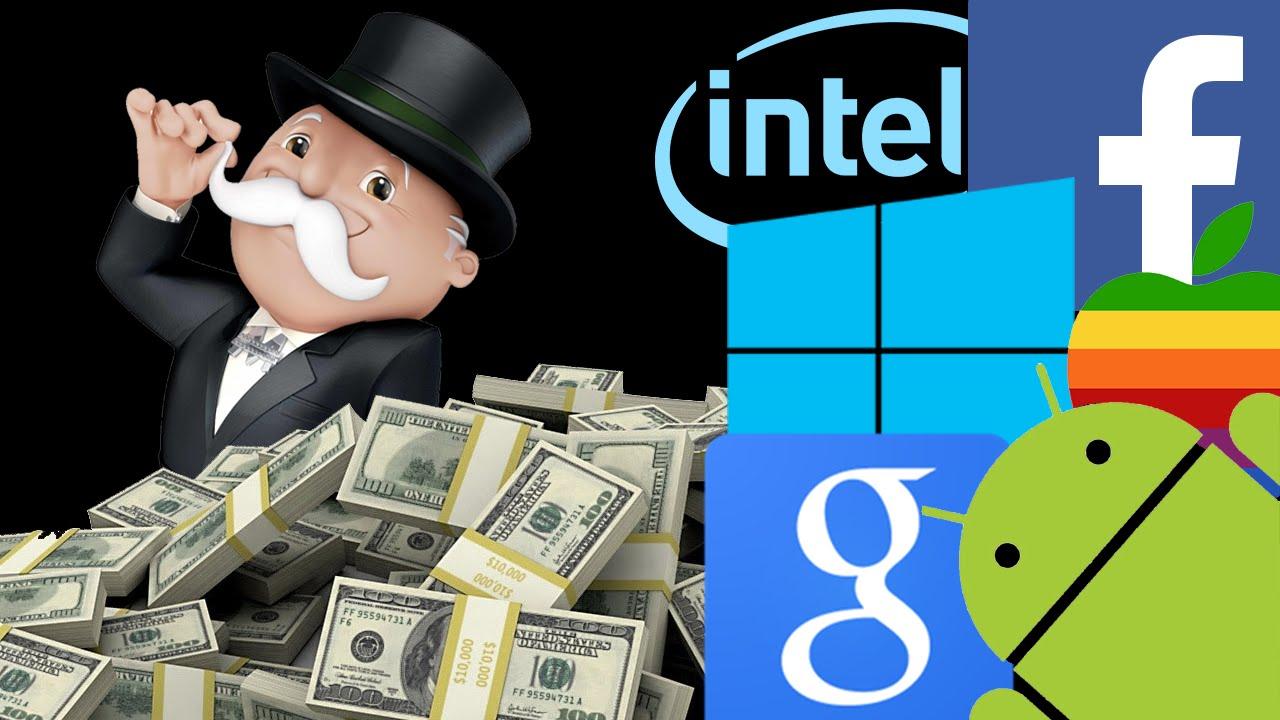 monopoli syarikat besar teknologi