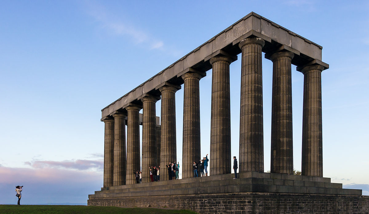monumen nasional scotland mercu tanda popular dunia yang gagal disiapkan 2