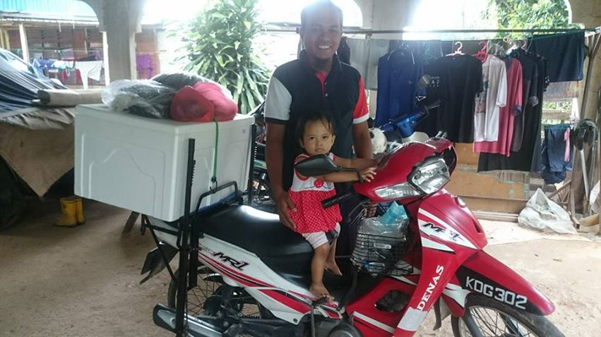 motorsikal dinie shawzi