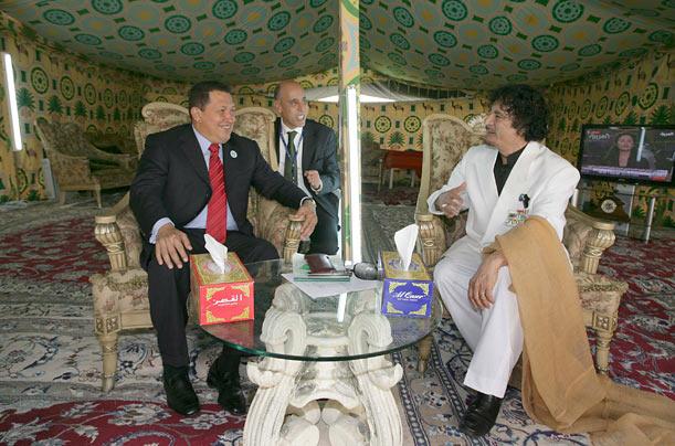 muammar gaddafi khemah badwi